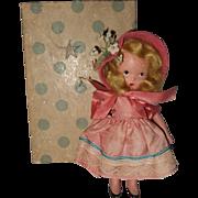 Painted Bisque, Nancy Ann Storybook, #115, Lucy Locket