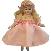 Miniature All Bisque Doll