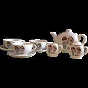 Japanese 1960's China Tea Set