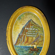 Miniature Prudential Tin Tray