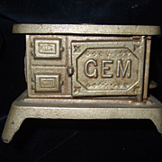 Cast Iron Doll House Gem Stove