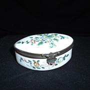 Rare Veuve Perrin Signed French Snuff Box, C. 1790