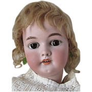 SALE Huge and Sweet Simon Halbig 1079 German Bisque Head Antique Doll