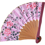Miniature Antique Fan for French Fashion Doll