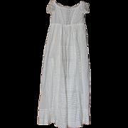 SALE Beautiful Antique Baby Christening Baptismal Gown of Civil War Era