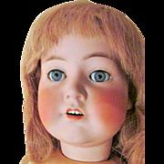 SALE Antique German Bisque COD Dressel Doll : Rare Huge K*R Lookalike 117n