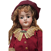 Rare Antique German Bisque Simon Halbig 1269 Character Doll