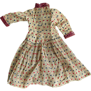 SALE Antique Doll Dress suitable for French Fashion Doll or German Fashion Lady Doll