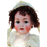 "SALE Gorgeous Lifesize Kestner 257 Antique 28"" Bisque Head Character : Jointed Wrists,Tre"