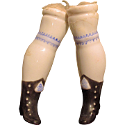 SALE China Replacement Legs for Antique China Head Doll
