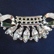 SALE Vintage Trifari Coronet Necklace from 1950 - Designed by Alfred Philippe