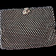 SALE Vintage Black Bling Evening Bag - KORET TRESOR