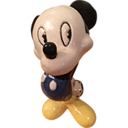 1940's Disney Ceramic Mickey Mouse Figurine