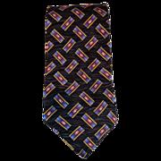 SALE Robert Talbott 100% Silk Hand Sewn Gray & Purple Extra Long Tie & Free US Shipping