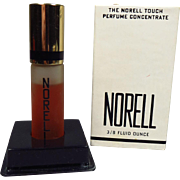 SOLD Vintage Norell Touch Tip Perfume Concentrate 3/8 oz Mostly Full with Box