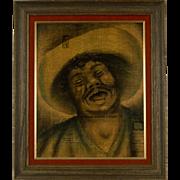 Seymour Paul Mix Media Painting, circa 1940