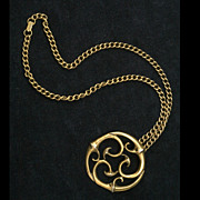 Alva Museum Replicas Medallion and Chain