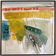 "Painting by Inez Storer, ""Flying Bird"", 1965"