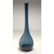 Rare early period (c.1971) William Worcester American Studio Glass Vase