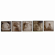Hollywood Forever Cemetery  Sepia Toned Vintage Photographs of
