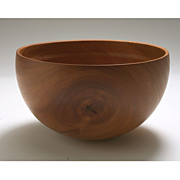 J. T. Doyen Turned Wood Bowl in Ironbark Eucalyptus