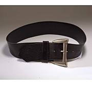Vintage 1980's Modernist Biker Belt