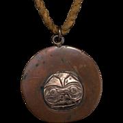 Signed Northwest Coast Copper Necklace