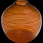 Jeremy Popelka Art Glass Vase