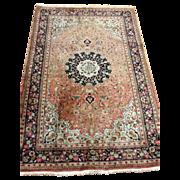 SOLD Fine Persian QUM Silk Oriental Rug 3'x5'