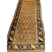 SALE Antique Camel Color Persian BIJAR Oriental Rug in hard to find size  3'3 ...