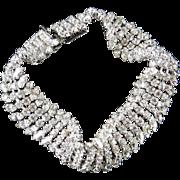 Vintage Christian Dior Germany Rhinestone Bracelet
