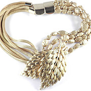 Jay Feinberg Strongwater Metal Bead Mesh Necklace