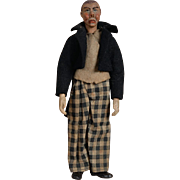 Bucherer Saba Swiss Metal Character Gentleman Doll - 7.5 inches