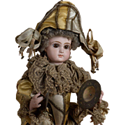 SALE Incredible Lambert Polichinelle Automaton with Gorgeous Jumeau Head