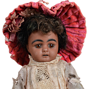 Adorable Tiny S & H 949 Black Child  Size 0 - 8 Inches