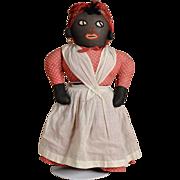 Folk Art Mammy Rag Doll - 20 Inches