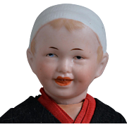 Recknagel Character Boy with Molded Cap - 7.5 inches