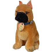 "Steiff Mohair ""Sarras"" Boxer Dog"