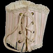 SALE Antique Doll Corset