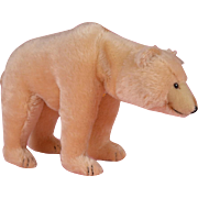SALE Steiff Polar Bear with Moveable head 1931 Replica