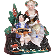 SALE Conte & Bohme Fairing Mother & Child with Hurdy Gurdy