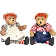 SALE Tiny Raggedy Ann & Andy Teddy Bears