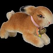 """Steiff Mohair """"Hoppy"""" Rabbit - 4 inches long"""