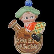Schafer & Vater Figural Flask - A Wee Bit of Scotch