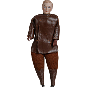 German Dollhouse Chauffeur - 6.25 inch
