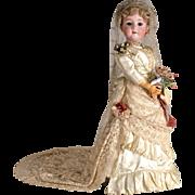 SALE PENDING Wonderful Large Walkure Bride Doll - 32 Inch