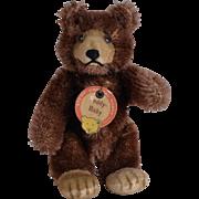 Tiny Steiff Mohair Teddy Baby - 3.5 Inches