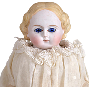 SALE PENDING HOLD FOR P. Fine Quality Parian Doll with Glass Eyes-11 Inches