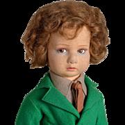 SALE PENDING Lenci Felt Boy Doll - 17 Inches
