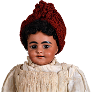 SOLD Rare Simon & Halbig 969 Black Smiling Character Child-13 Inches